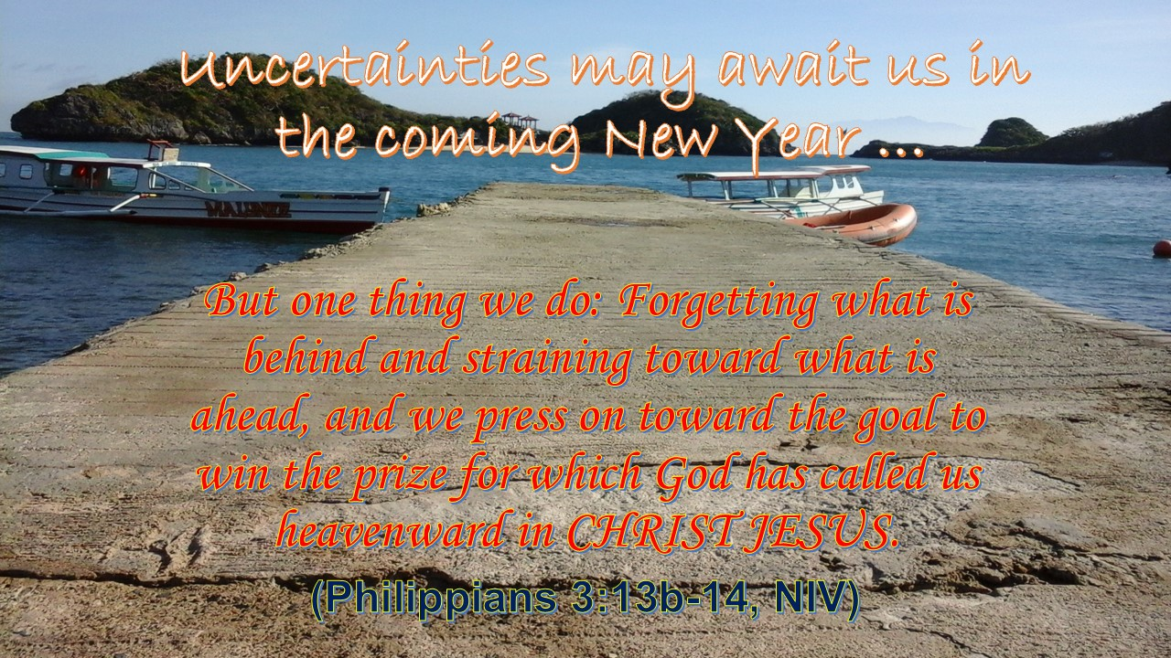 Prudent New Year